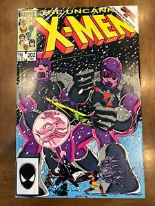 Marvel Comics Uncanny X-Men Issues #202-204 (1986) Secret Wars II HQ Copies