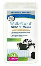 New Dog Muzzle Four Paws Quick Fit Black Fits Sizes 5-Xl Comfee Washable Fabric