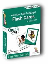 SIGN2ME FLASH CARDS QUICK START PACK BEGINNER SERIES **Mint Condition**