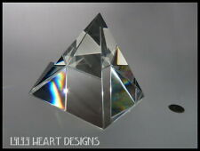 Humongous Largest Rare Crystal Pyramid Prism 100Mm 4 Inches Lilli Heart Designs