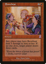 MTG X2: Browbeat, Timeshifted, R, Moderate Play - FREE US SHIPPING!