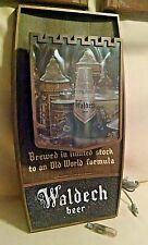 Hamms Beer Sign Waldech Lighted Bar Castle Theme Plastic Vintage Works Lakeside.