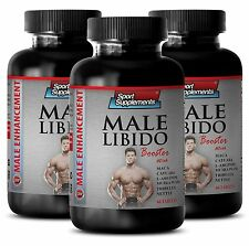 Zinc Supplement - Male Libido Booster 1270mg - Boost Sexual Vigor 3B