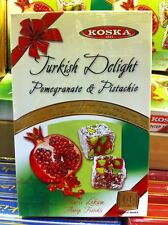 Koska pistacho & Granada turco Delicia 350g tradicional Snack Lokum