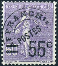 FRANCE PREO N° 47 NEUF * AVEC CHARNIERE COTE 175€