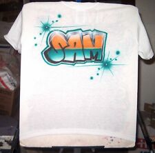 """Airbrushed T-shirt """"ERIC"""" NAME DESIGN all sizes to 6X"""