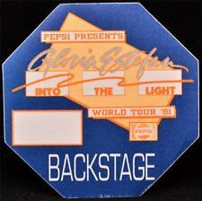 Silk Backstage Pass Gloria Estefan Into The Light Tour 1991 Concert Ticket