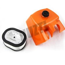 NEW Air Filter and Filter Cover For STIHL MS660 066 MS650 OEM Part 11221401002