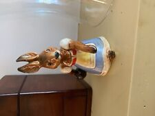 """Goebel rabbit/ bunny bowling girl Bavarian- Germany- 5"""" perfect easter time"""