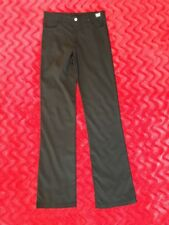 Versace Jeans Couture Rare Find! Black Polymide/Nylon Spandex Flare Leg Jeans