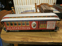 Emmett Kelly Jr All Star Circus G Scale Bachmann Advertising Combo Car Nice!