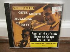 Getz Meets Mulligan in Hi-Fi  (Gerry Mulligan /Stan Getz) (CD, Verve)   NEW