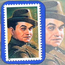 2000  EDWARD G ROBINSON 6th Legends of Hollywood MINT Single 33¢ Stamp Cat #3446