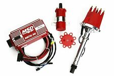 Msd Ignition 6Al Box w/ Tsp Pro Billet Distributor & Coil 6425 Sbc Bbc