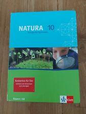 NATURA Biologie 10 Klasse Gymnasium Oberstufe Schulbuch Bayern