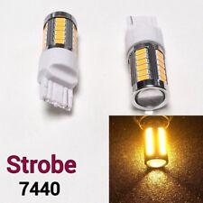 Strobe Brake Lights 33 LED Bulb Amber NOT CK T20 7440 7441 992 B1 For Audi BAU