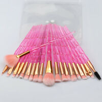 20pcs Unicorn Makeup Brushes Powder Blush Eye Shadow Blending Makeup Brush Tool