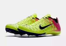 Nike Zoom Maxcat 4 Men's Spikes Track Shoes 549150 999 Volt Pink Size 10