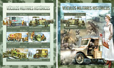 Military Transport Vehicles Cars Autos Red Cross Wars Mozambique MNH stamp set