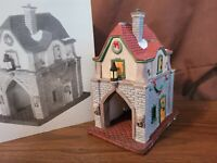 Dept 56 Dickens Village Accessory 1992 GATE HOUSE 55301 RETIRED 1992