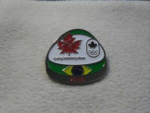 Canada Cycling Association for Olympic Games Rio 2016 pin