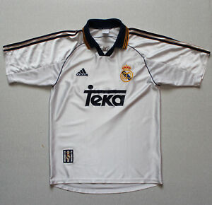 Real Madrid 1998 - 2000 Home Football Shirt Jersey (size S)