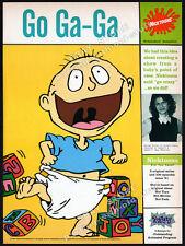 NICKTOONS - Nickelodeon__Original 1996 Trade print AD __RUGRATS__Arlene Klasky