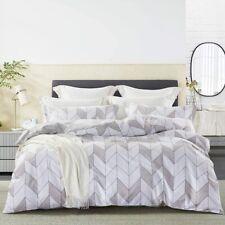 Johnpey Duvet Cover Queen 100% Cotton Comforter Cover Set/Bedding Set 3 Piece