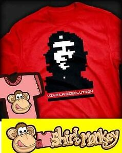 Che Guevara - Viva La Resolution T-shirt - Ladies / Gents XS - XXL Many Colours