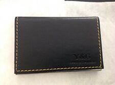 Y&G Men's Fashion Minimalist Leather PU Business Credit ID Card Holder