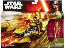 STAR WARS Rebels Ezra Bridger's Speeder with Ezra 3.75-Inch Vehicle & Figure NEW