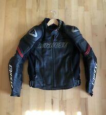 Dainese Leather Motorcyle Jacket Size 48EU 38US