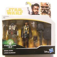 Star Wars Lando Calrissian And Kessel Guard Action Figure With Force Link 2.0