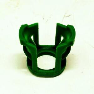 Genuine GM Saturn 21007292 OEM Lot of 2 Green Plastic Fuel Feed Pipe Retainers