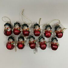 Ganz Men's Personalized Christmas Ornament Jingle Bell Snowman Choose One Name