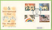 G.B. 1981 Disabled set on Mercury First Day Cover, Petersfield