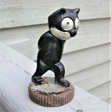 RARE Vintage 1920s Felix the Cat Keeps Kept on Walking Celluloid Figure NORWAY