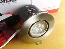 Aurora I10 Satin Nickel 10w 240v LED Down Spot Light. Warm White.