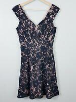 [ REVIEW ] Womens Black Lace Dress | Size AU 8 or US 4