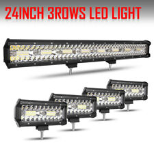23 Inch 1872W + 4pcs 7inch Pods Spot Flood Combo Autofeel LED Work Light Bar