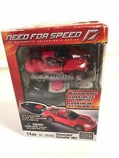 Mega Bloks Need For Speed Key Launcher Model 95706 Red Chevrolet Corvette ZR1