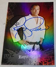 Royce Gracie Signed UFC 2010 Topps Main Event Card 1 Autograph 2 3 5 60 Pride FC