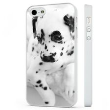 Dalmation Cute Puppy Dog WHITE PHONE CASE COVER fits iPHONE