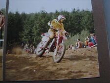 Photo Maico 500 #16 Peter Klomp (NED) Motocross Lochem (NED) 5 oktober 1980 2x