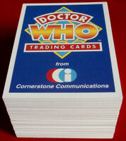 DR WHO - Cornerstone Series 1 - COMPLETE BASE SET (110 cards) - 1994