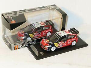 1/43 Citroen C4 WRC Red Bull - Total  Rally De France Tour de Corse 2008 S.Loeb
