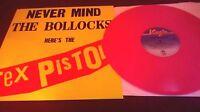 Sex Pistols – Never Mind The Bollocks RARE PINK VINYL re LP virgin