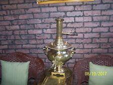 Antique Russian Brass Samovar very nice piece
