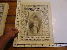 The Modern Priscilla : Boston Mass 1906, May vol XX # 3: Outside the Portals