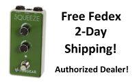 New Foxgear Squeeze Compressor Guitar Effects Pedal